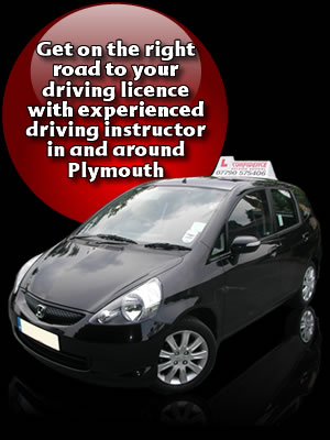 get driving lessons Plymouth with Confidence Driving School